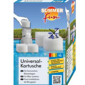 Cartridgefilter universeel verpakking voorkant