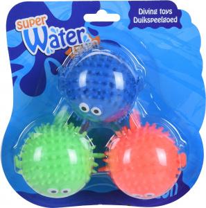 Set van drie splash ballen