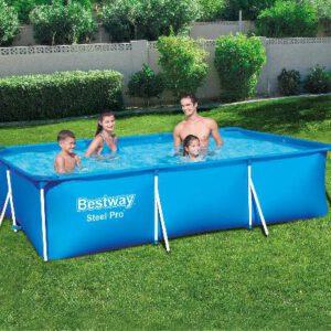 Bestway zwembad met stalen frame 300x201x66 cm